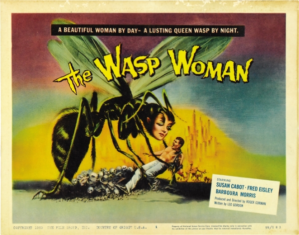 The Wasp Woman movie poster