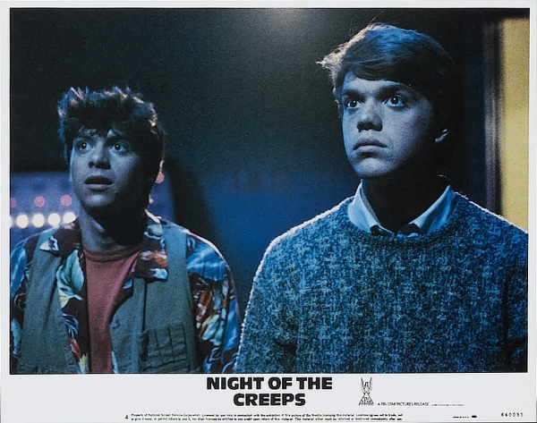 JC and Chris in Night of the Creeps