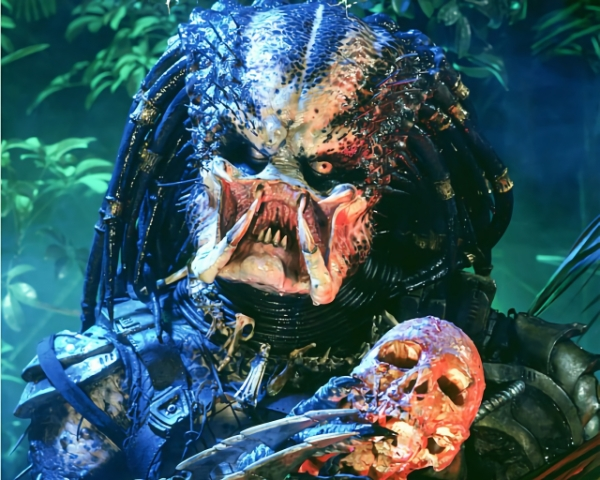The alien from Predator