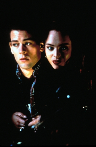 Curt and Julie looking normal in return of the living dead 3