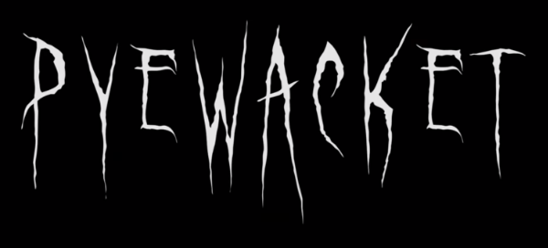 The word Pyewacket written in a creepy font