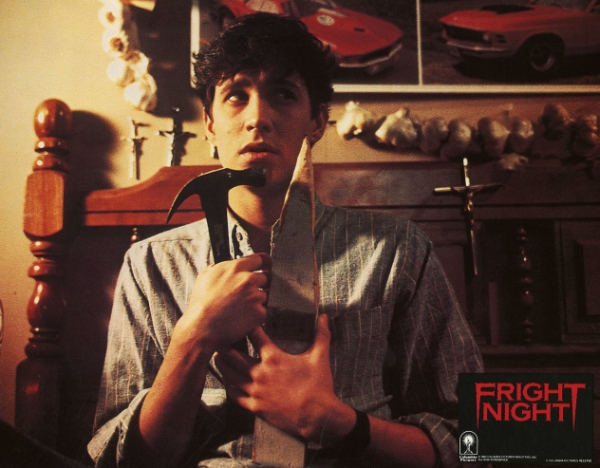 Charlie in Fright Night 1985