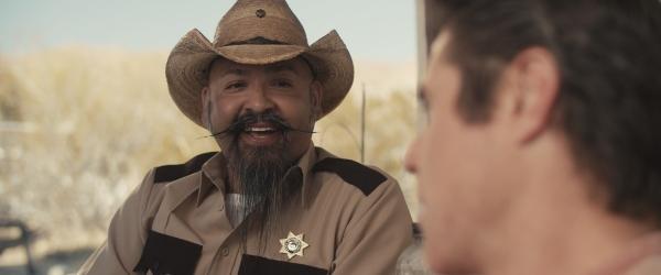 David Vega (AKA Lucifers AXE) as Sheriff Weaver in Cannibal Comedian.