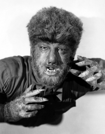 Lon Chaney, Jr. as The Wolf Man (1941)