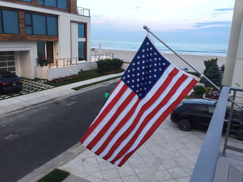 July 4th American Flag
