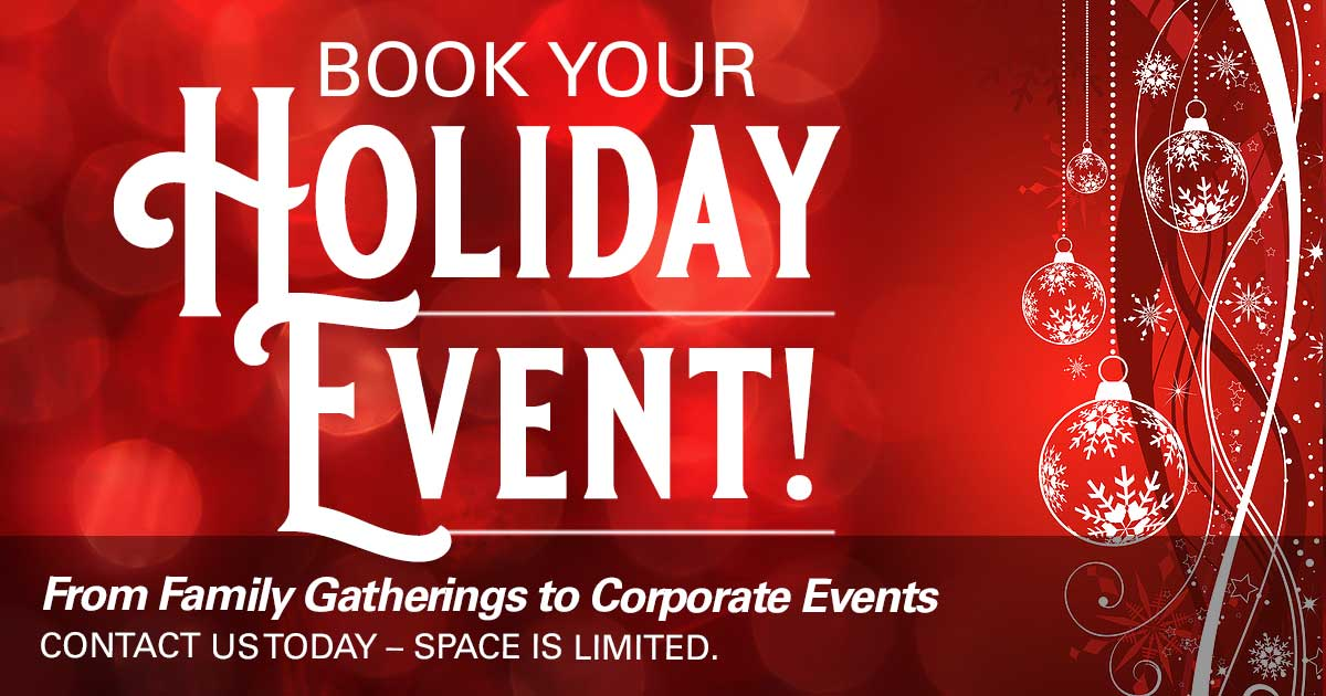 Book Your Holiday Event