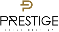 Prestige Store Display Logo