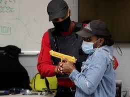 black americans firearms