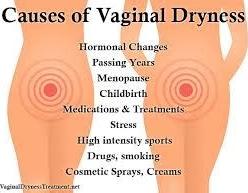 Vagina dryness
