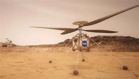 NASA helicopter