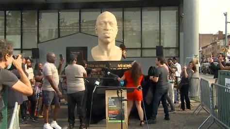 George Floyd statues