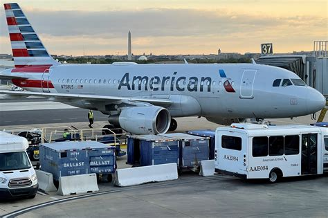American Airlines passenger