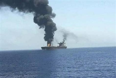 attack on an Israeli-linked tanker