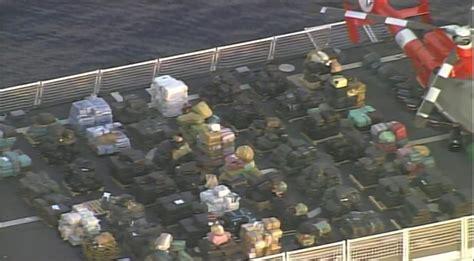 Coast Guard offloads $1.4 billion in drugs