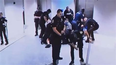 Five officers charged for excessive force