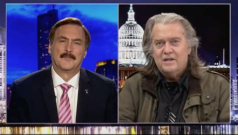 Steve Bannon and Mike Lindell