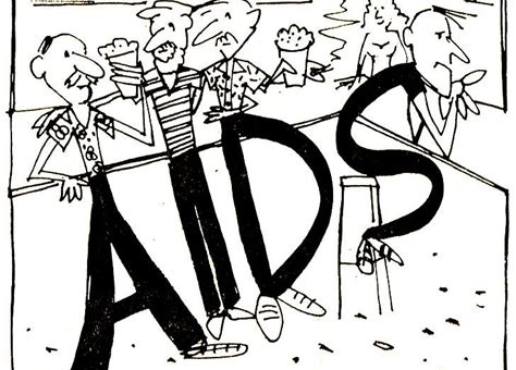 homosexuals spread aids