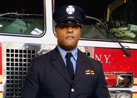 Black FDNY firefighter's