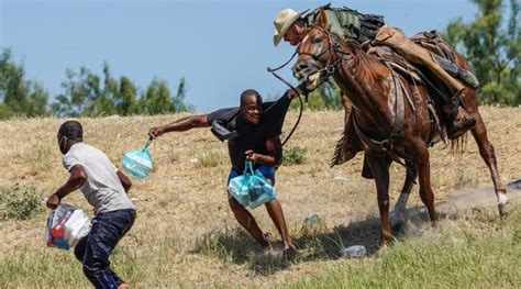 DHS investigating after images show agents on horseback chasing migrants