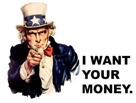 Uncle Sam Watching Your Money