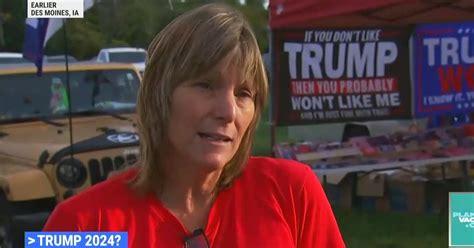 Trump Rally She Sees 'Civil War Coming