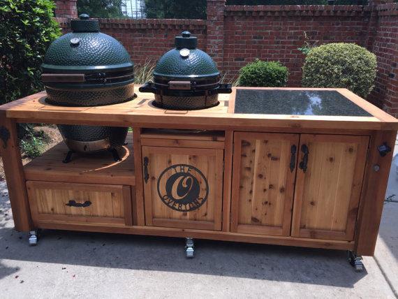 Cedar Grill Table