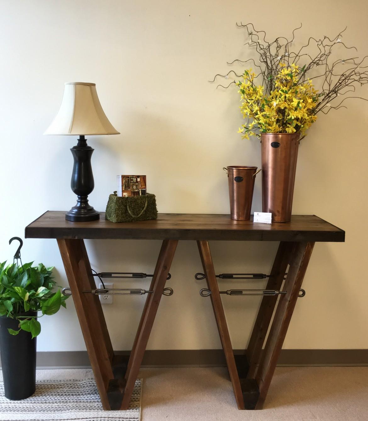Custom V Table