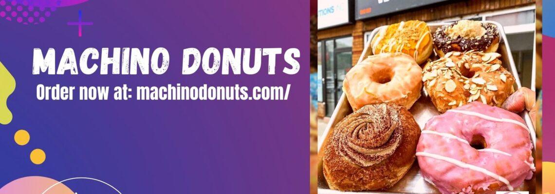 Vegan Donuts of Machino Donuts