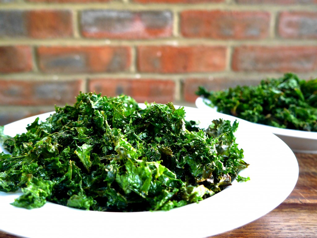 Garlic Salt Kale Chips by Andrea's Passions