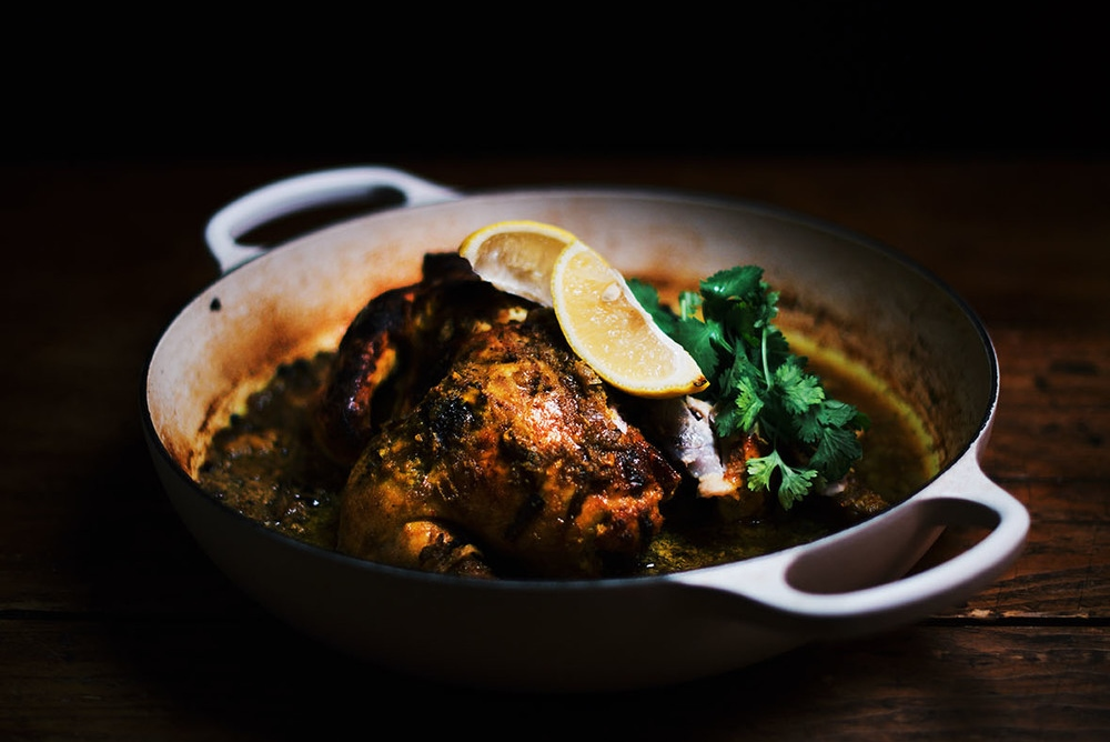 Turmeric+and+Yogurt+Spiced+Oven+Roasted+Chicken-+A+Brown+Table