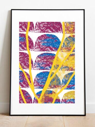 Eley Stem Fusion Art Print