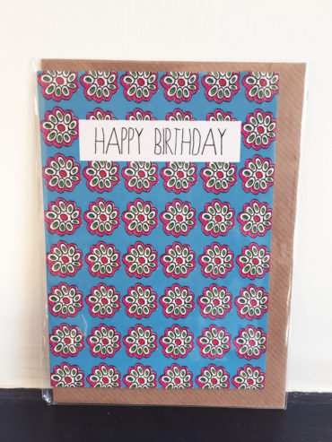 BLOSSOM FLOWER BIRTHDAY CARD
