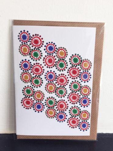 Maasai Beads Greeting Card