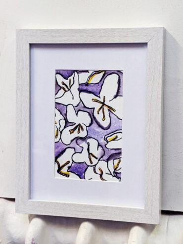 Lilies Framed Art