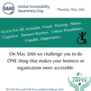 Global Accessibility Awareness Day