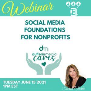 non profit webinar on social media