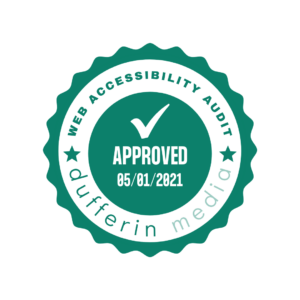 Web Accessibility Approved Seal