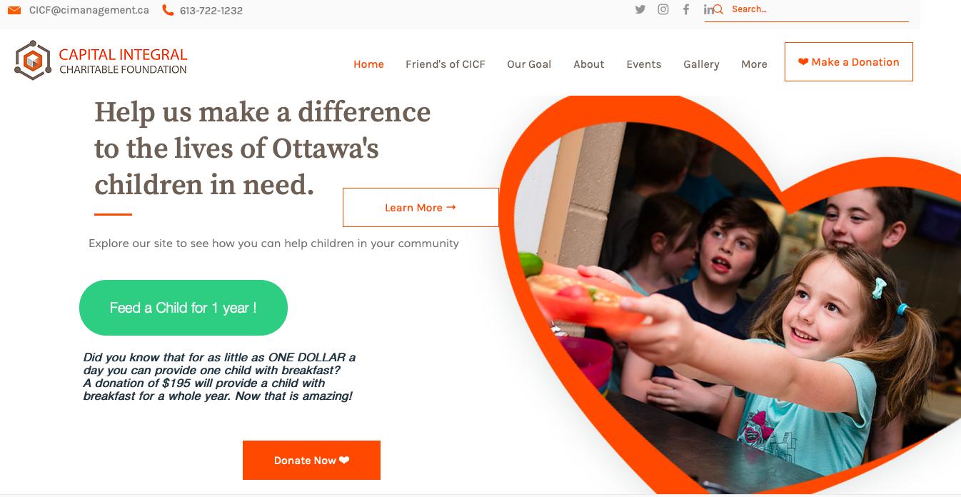 Capital Integral Charitable Foundation Ottawa