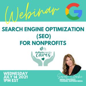 Search Engine Optimization SEO for nonprofit organizations