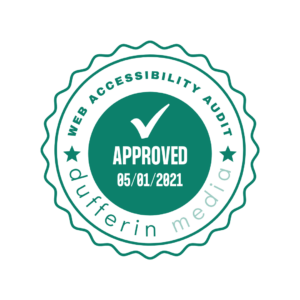 Web Accessibility Seal Approved