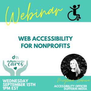 web accessibility webinar
