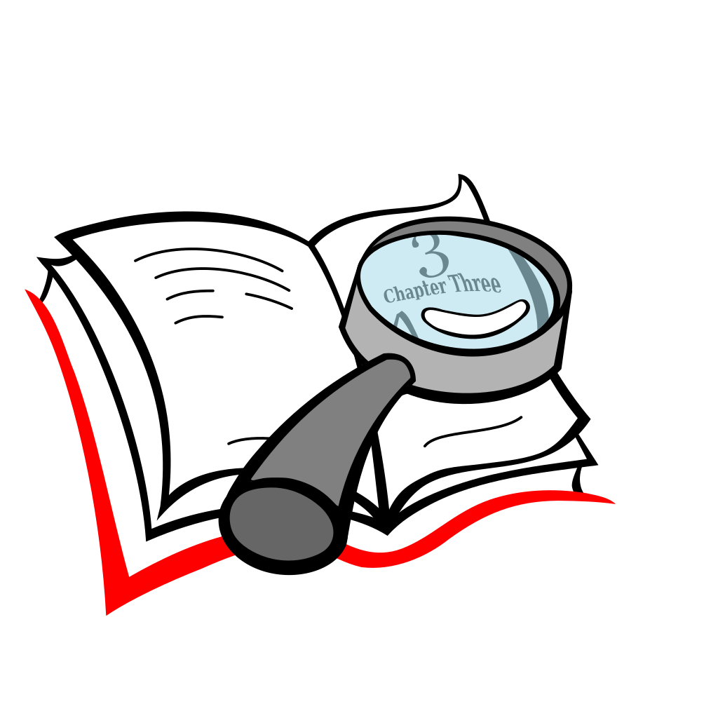 Line Editing - magnifying glass
