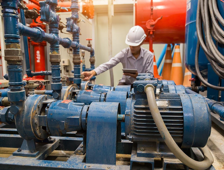 Pump Repairs - Energy Construction Services Inc.