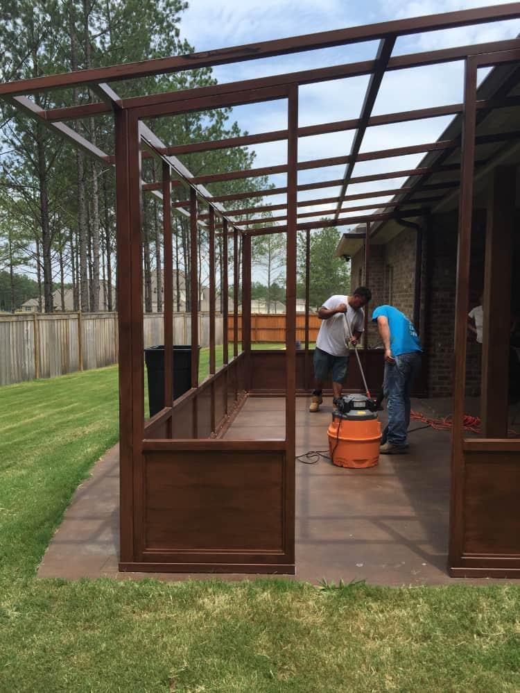 Mississippi Iron Works - safe room