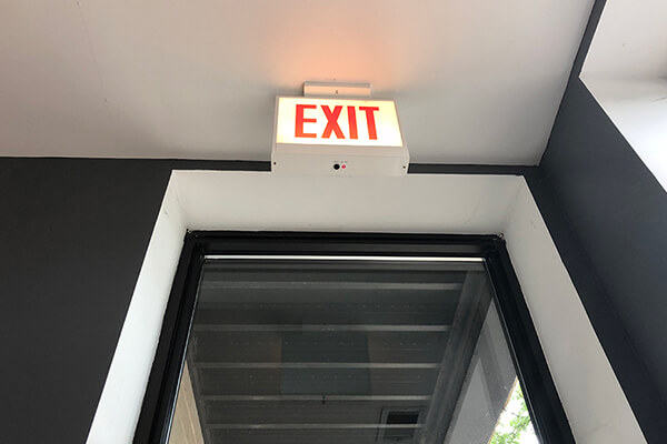 Exit sign Gallery