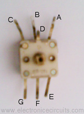 FM Tuning Capacitor (15pf-40pf) with AM