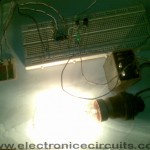 4011 Touch Control Switch on light