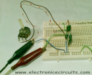 555 Variable Frequency Square Wave Generator