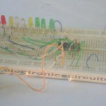 LM3914 12V Battery Monitor test circuit