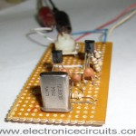 Crystal Controlled Colpitts Oscillator Circuit